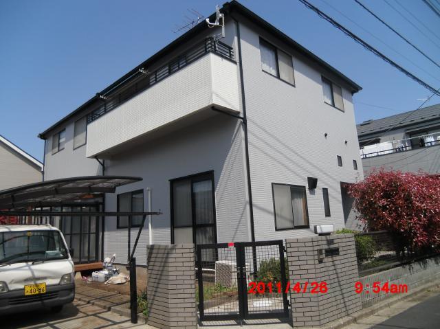 松戸市 E様邸 屋根外壁塗装リフォーム