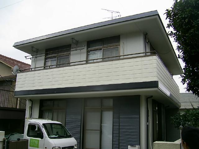 市川市 G様邸 外壁塗装ベランダ防水リフォーム