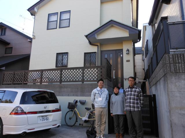 松戸市 H様邸 屋根外壁塗装リフォーム