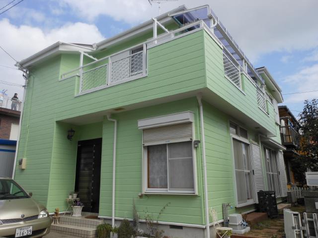 流山市 H様邸 屋根外壁塗装リフォーム