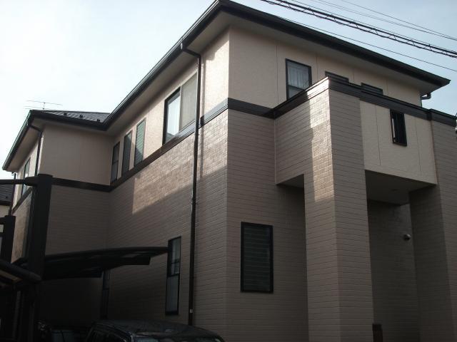 柏市 H様邸 屋根外壁塗装リフォーム
