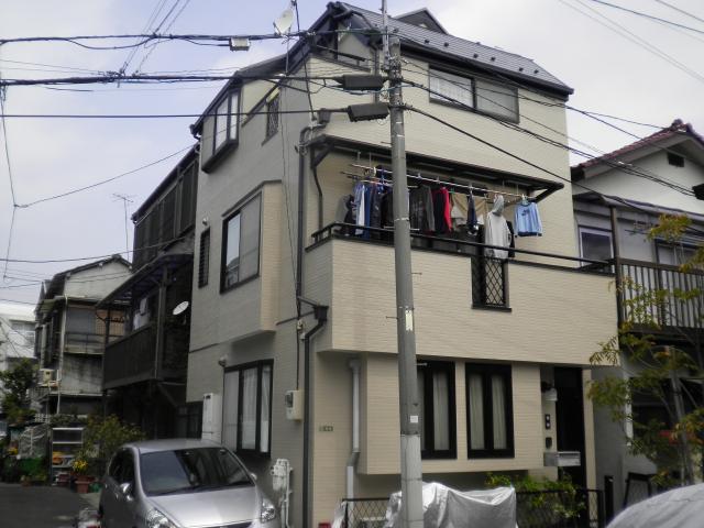 文京区 K様邸 屋根外壁塗装リフォーム