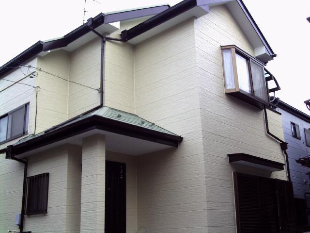 柏市 K様邸 屋根外壁塗装リフォーム