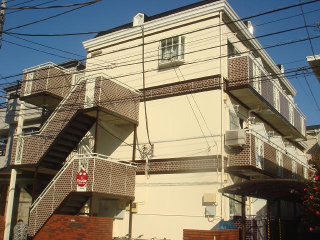 足立区 S様邸 隣マンション 外壁屋根塗装防水リフォーム