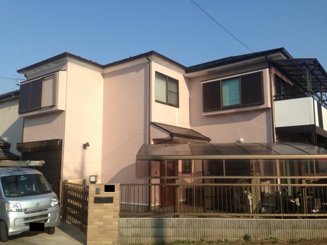 千葉県柏市 W様邸 アステックペイントで外壁塗装・屋根塗装