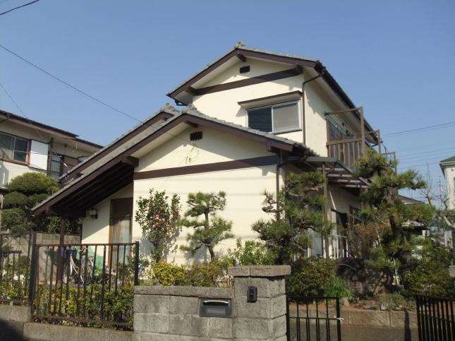松戸市 外壁塗装リフォーム H様邸