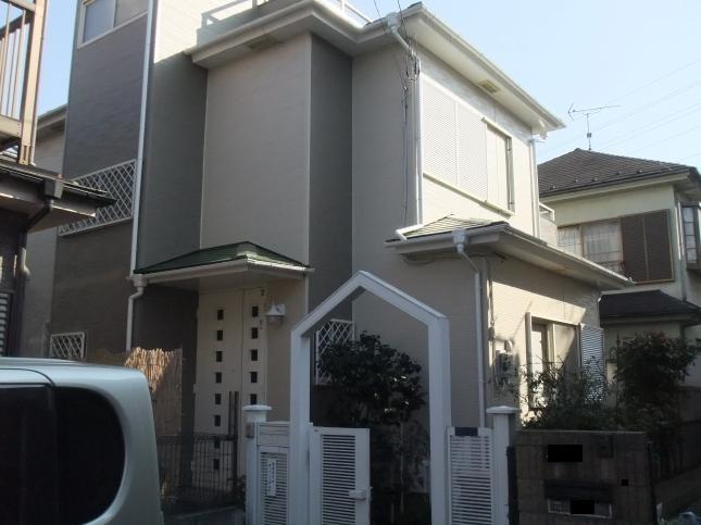 柏市 屋根塗装サイディング張り替えリフォーム T様邸