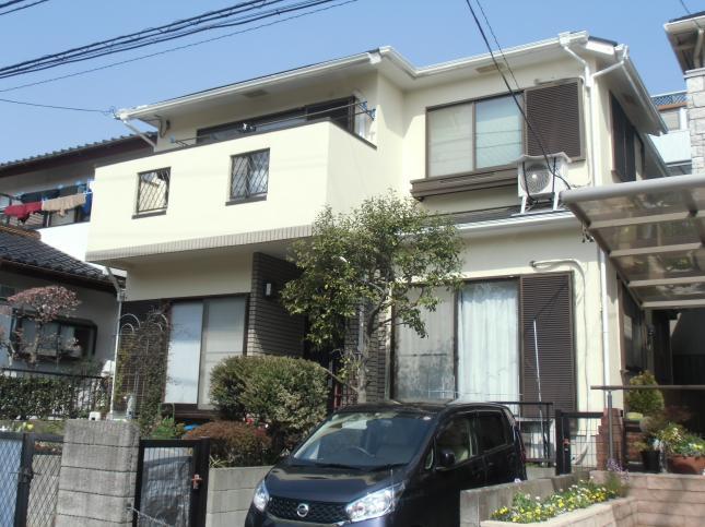 取手市 屋根外壁塗装リフォーム T様邸