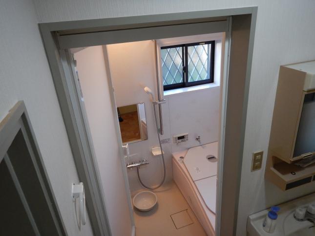 柏市 浴室リフォーム窓ありプラン H様邸