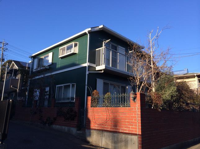 松戸市 屋根外壁塗装リフォーム Y様邸