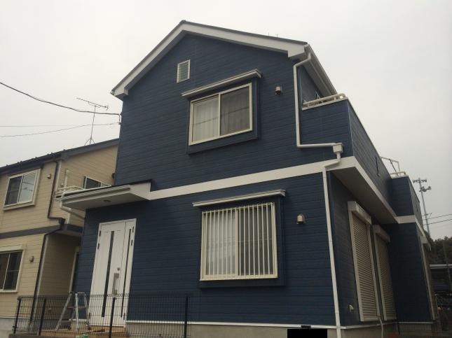 鎌ヶ谷市 屋根外壁塗装リフォーム N様邸