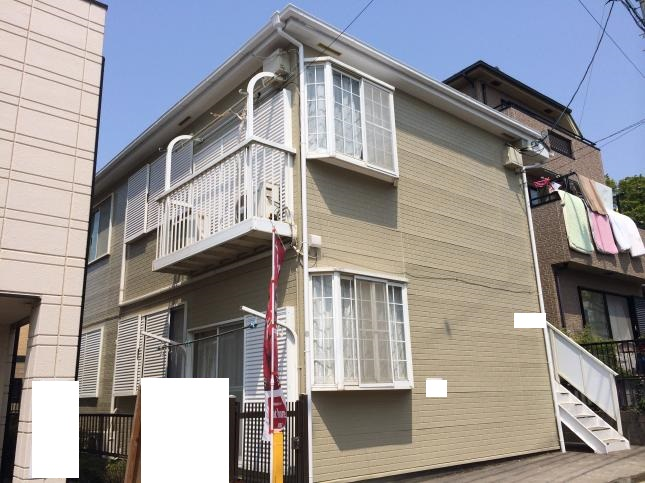 千葉市 アパート外壁塗装リフォーム
