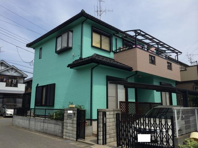 野田市 外壁塗装リフォーム Y様邸