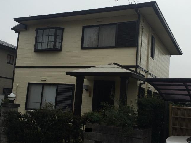 佐倉市 屋根外壁塗装リフォーム I様邸