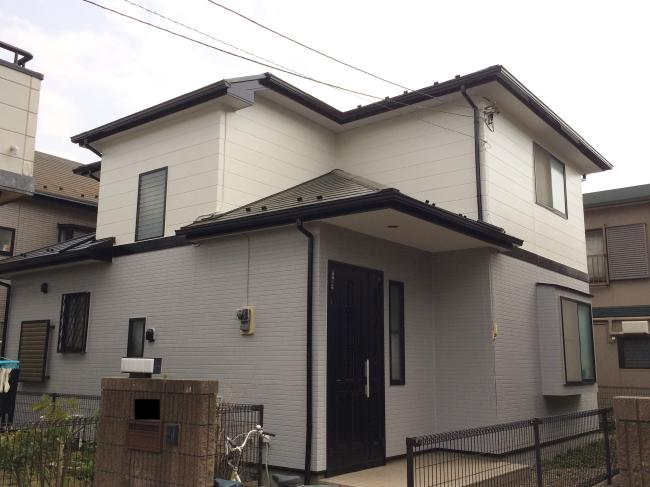 習志野市 屋根・外壁リフォーム工事 無機・フッ素塗料 M様邸