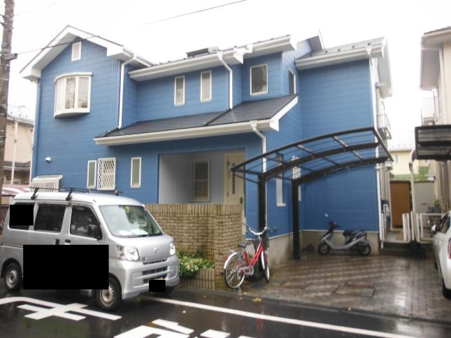 松戸市 屋根外壁塗装リフォーム A様邸