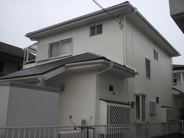 つくば市 屋根外壁塗装リフォーム S様邸