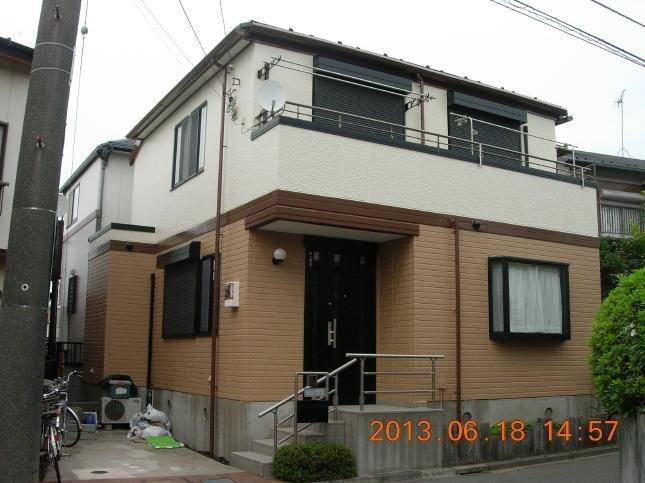 船橋市 屋根外壁塗装リフォーム T様邸