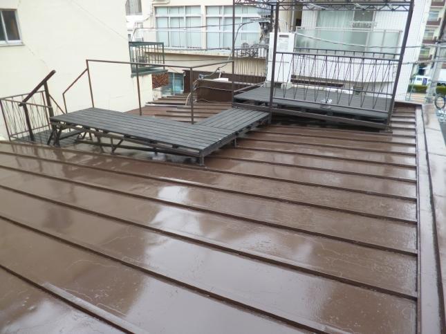 新宿区 屋根塗装リフォーム T様邸