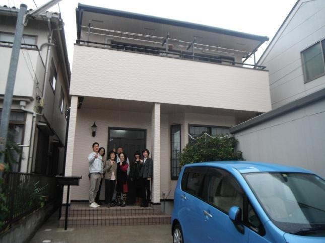 松戸市 屋根カバー工法外壁塗装リフォーム N様邸