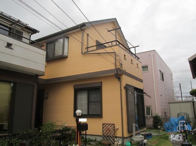 松戸市 屋根外壁塗装リフォーム I様邸