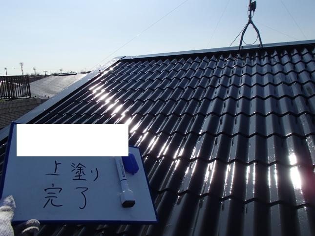 習志野市 屋根塗装リフォーム I様邸