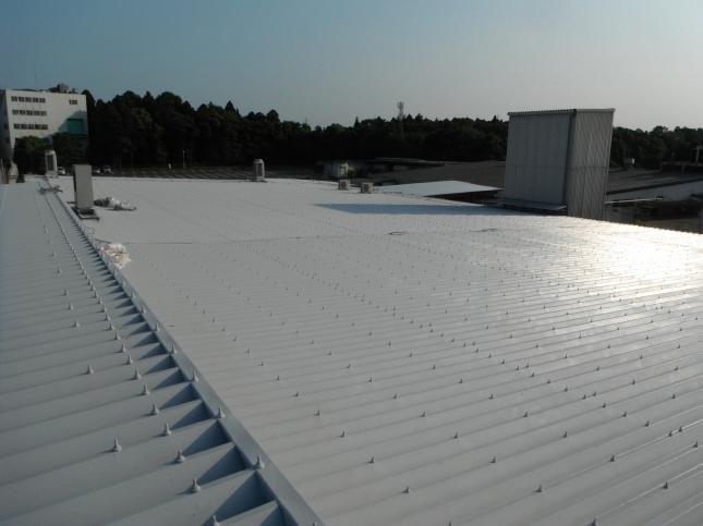 佐倉市 H工場様管理棟屋根塗装