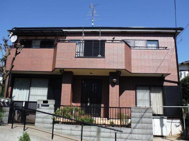柏市 屋根外壁塗装リフォーム N様邸