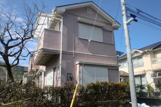 柏市 屋根外壁塗装リフォーム S様邸