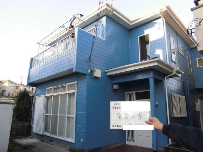 松戸市 屋根外壁塗装リフォーム O様邸