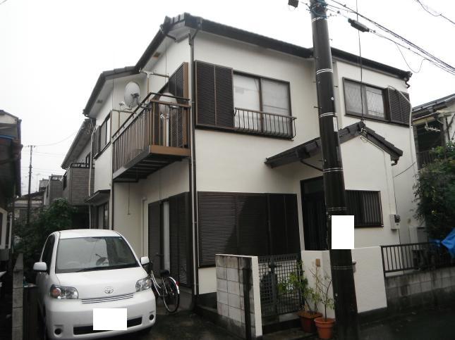 鎌ヶ谷市 屋根外壁塗装リフォーム S様邸