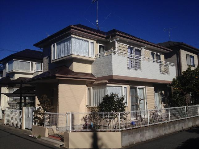 野田市 屋根外壁塗装リフォーム S様邸