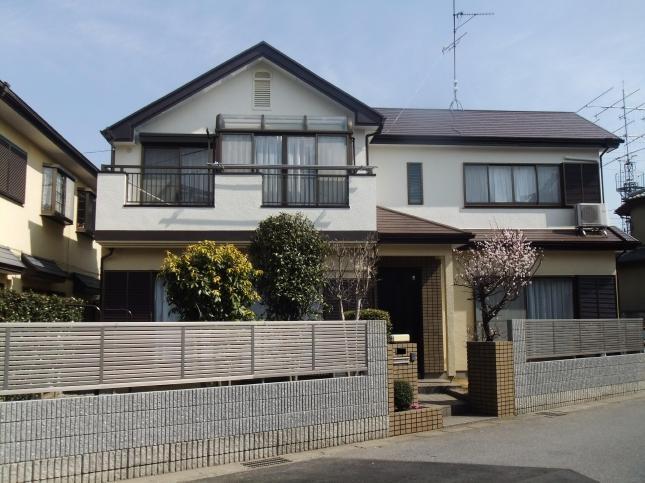 野田市 屋根外壁塗装リフォーム T様邸