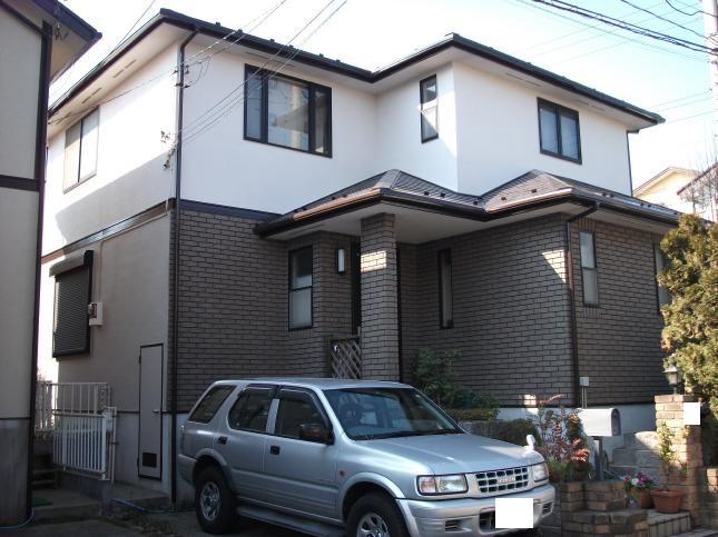 松戸市 屋根外壁塗装リフォーム S様邸