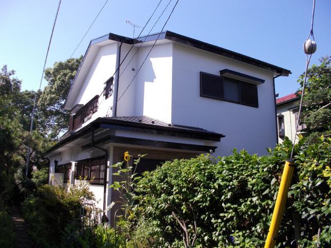 我孫子市K様邸 屋根外壁塗装リフォーム