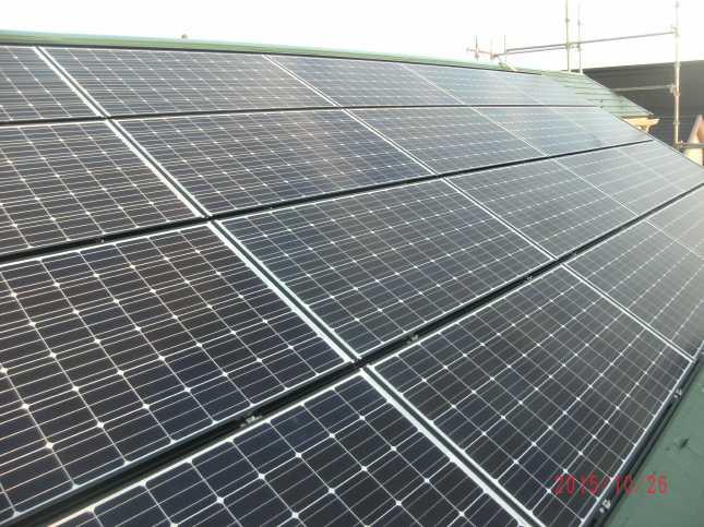 柏市A様邸 太陽光設置リフォーム