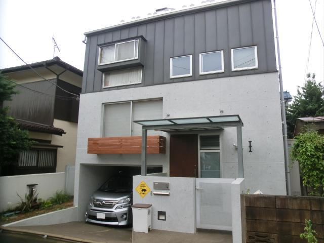 西東京市M様邸 コンクリート再生塗装