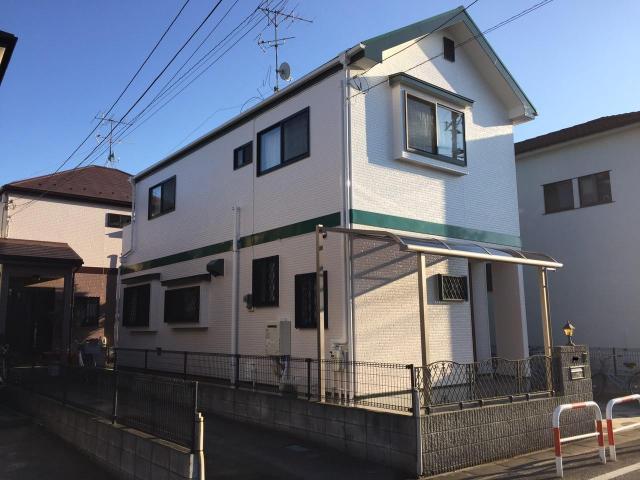 千葉県柏市Y様邸 屋根外壁塗装リフォーム後