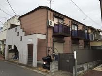 松戸市アパート屋根外壁塗装前