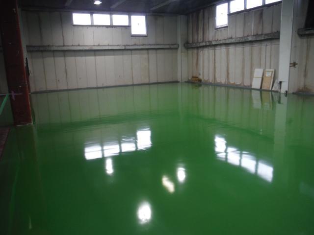 佐倉市 リプロントーワ株式会社様A棟3階塗り床工事