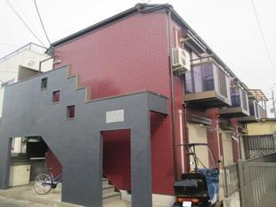 松戸市アパート 屋根外壁塗装後