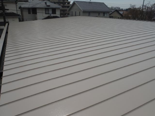 流山市W保育園様 屋根遮熱塗装工事