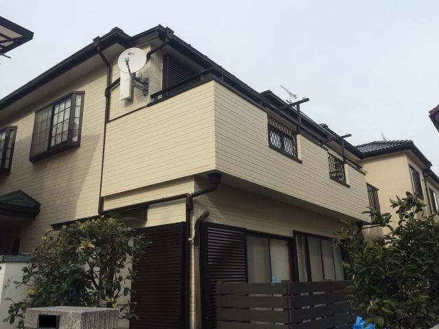 市川市S様邸 屋根カバー工法・外壁塗装リフォーム
