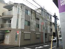 品川区M様邸 コンクリート再生塗装前