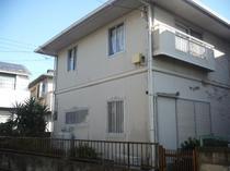 松戸市I様邸 屋根外壁塗装リフォーム前