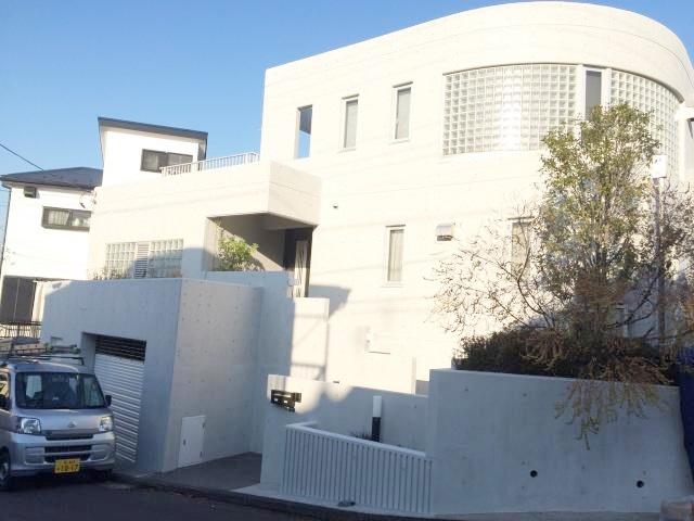 横浜市K様邸コンクリート再生塗装・玄関ドア交換リフォーム