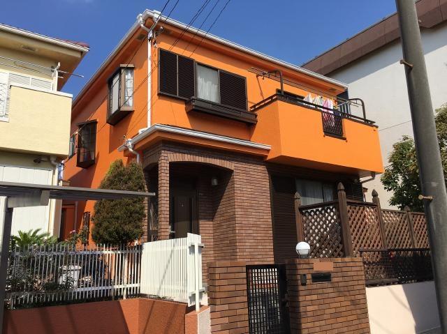 松戸市T様邸屋根外壁塗装リフォーム施工後
