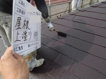 松戸市T様邸 屋根上塗り
