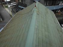 柏市関場町N様邸 屋根塗装リフォーム前.JPG