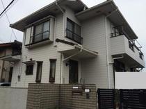 松戸市Y様邸 屋根外壁塗装リフォーム前